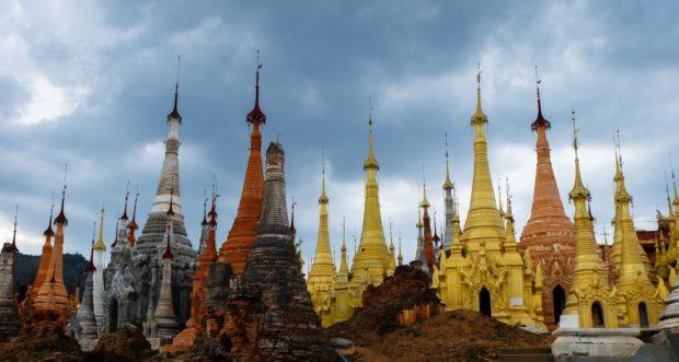 lago inle tempio birmania