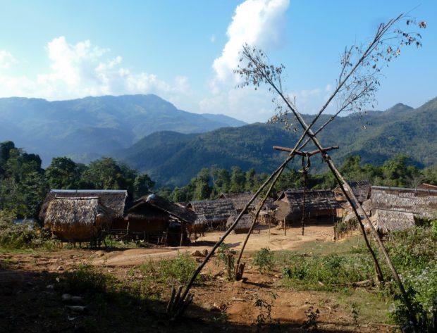 laos porta villaggio