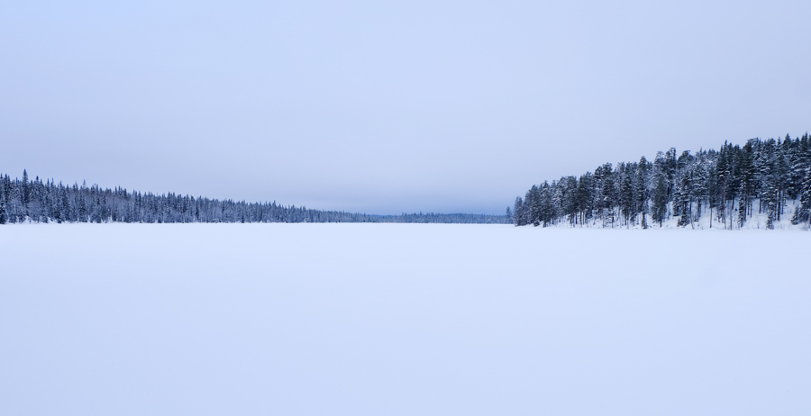 lapponia inverno oulanka ciaspole spedizione