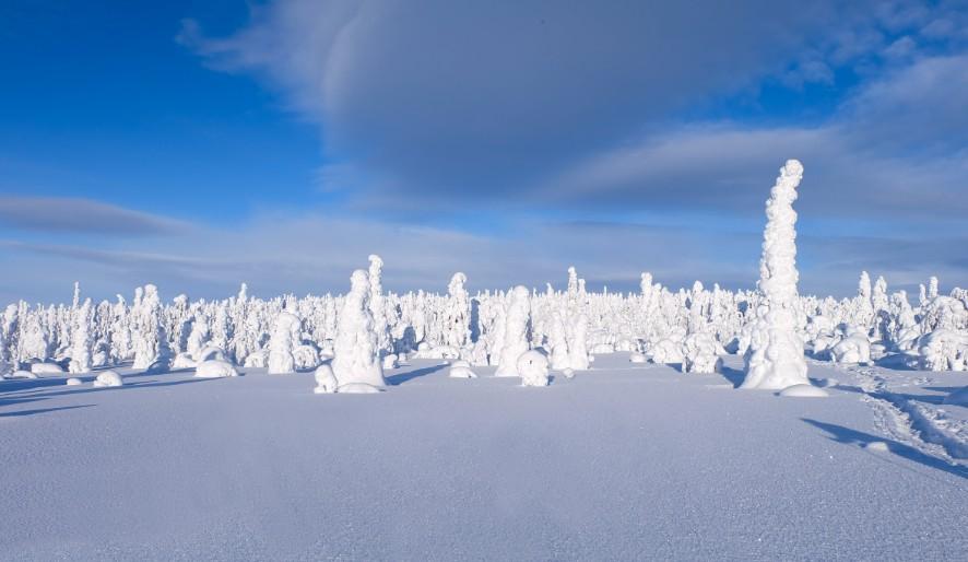 lapponia inverno racconto di viaggio