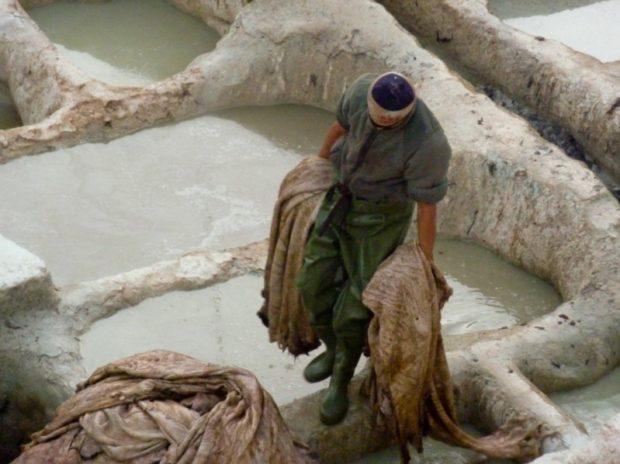 lavorazione pelli Fez