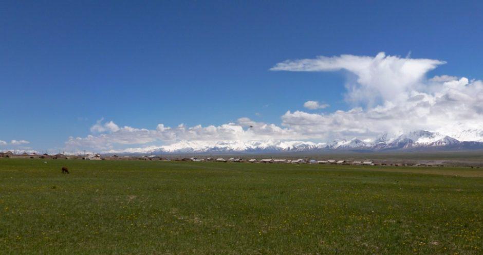 libri dia viaggio asia centrale prateria kirghizistan