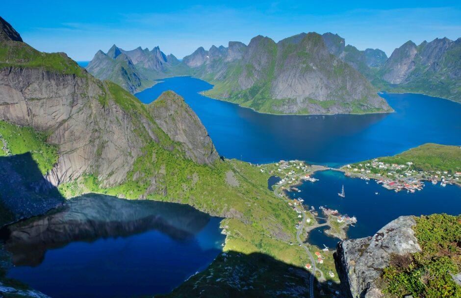 libri di viaggio Norvegia isole Lofoten Reine