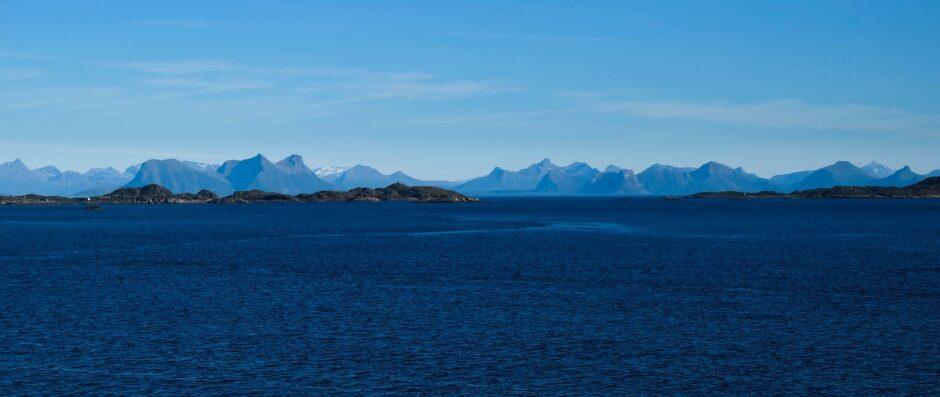 libro di viaggio Norvegia navigazione postale