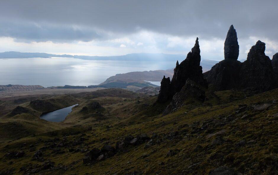 libro di viaggio Scozia isola di Skye