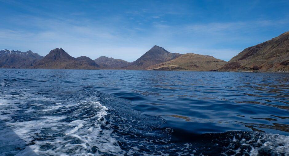 libro di viaggio Scozia isola di Skye cuillin mountains