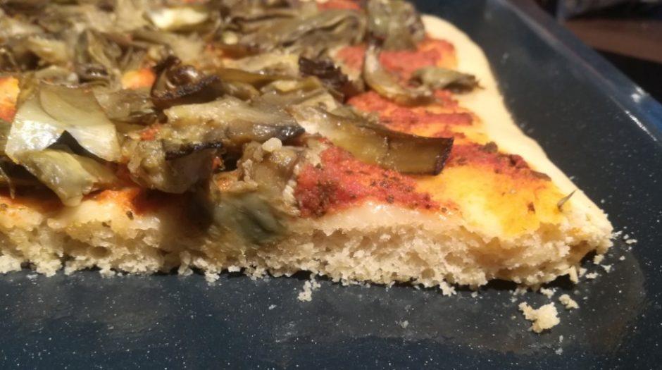 licoli ricetta pizza impasto a bassa idratazione lievito madre