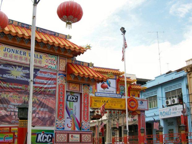 malacca china town
