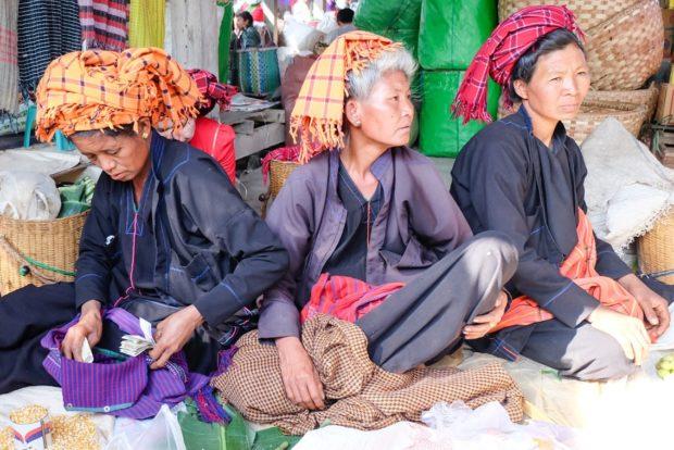 mercato lago inle birmania