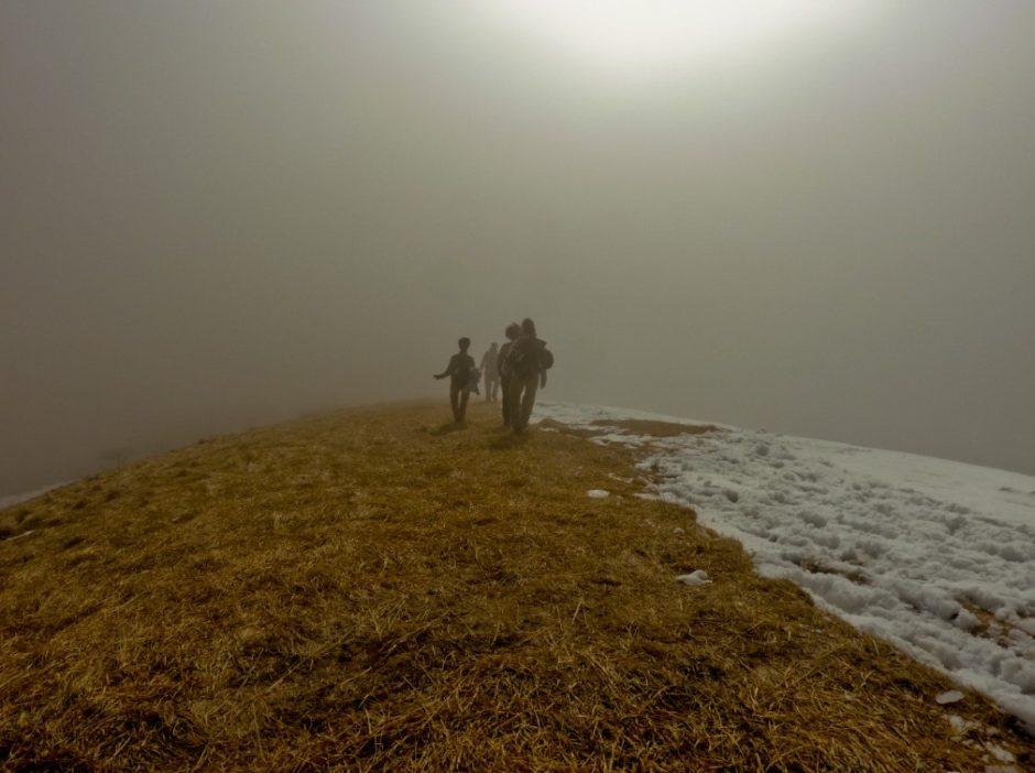 monte bollettone luce trekking