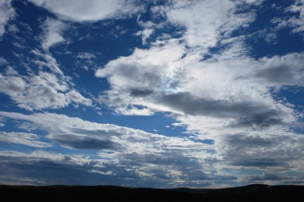 norvegia cielo