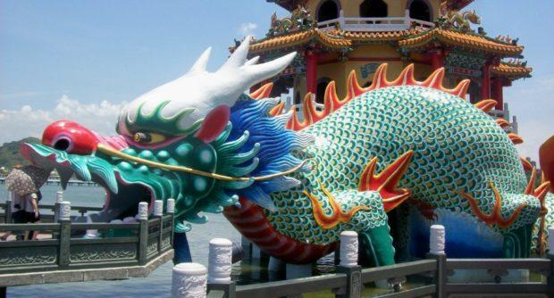 pagoda drago taiwan