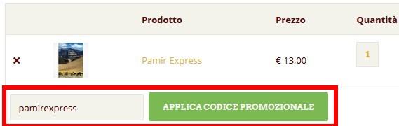 pamir express codice