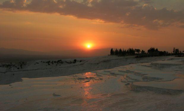 pamukkale tramonto