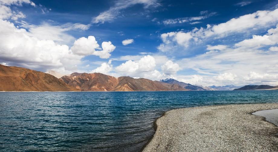 pangong lake ladakh tibet india del nord