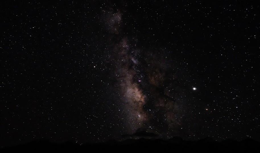 pangong lake stelle fotografia notturna