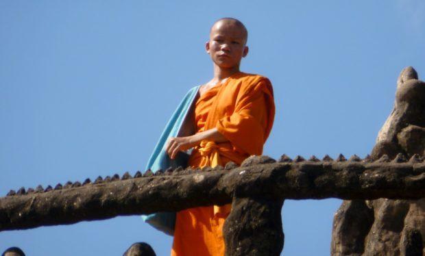 parco dei budda vientiane laos monaco