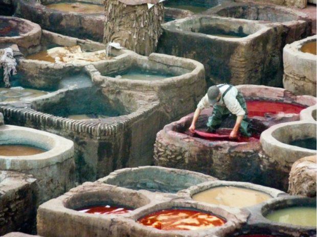 pelli concerie Fez