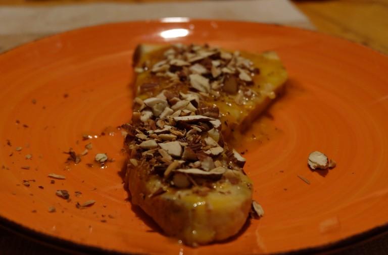 ricetta pesce spada arancia limone e mandorle tostate