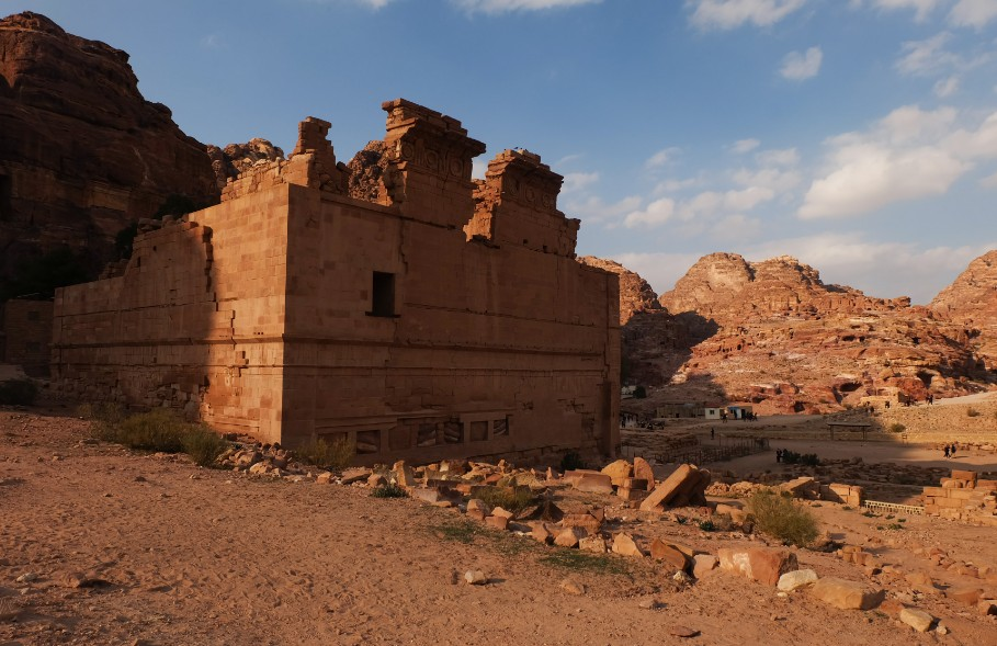 petra il castello giordania