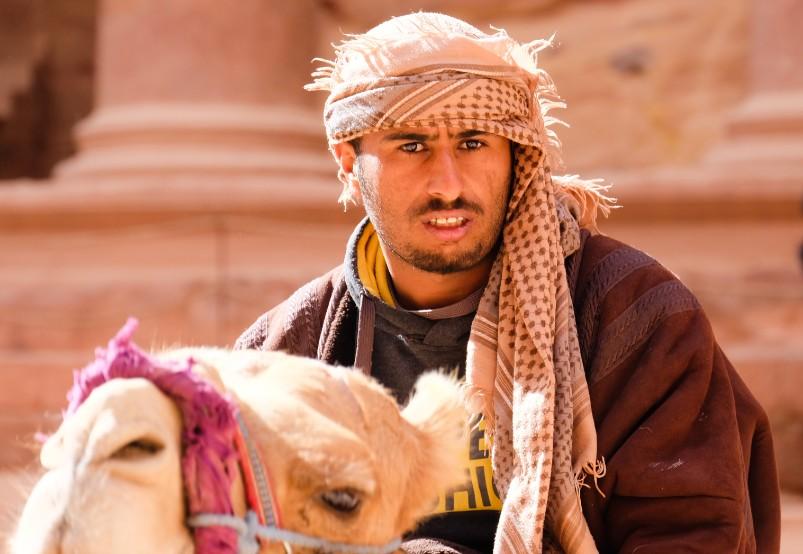 petra viaggio giordania beduino