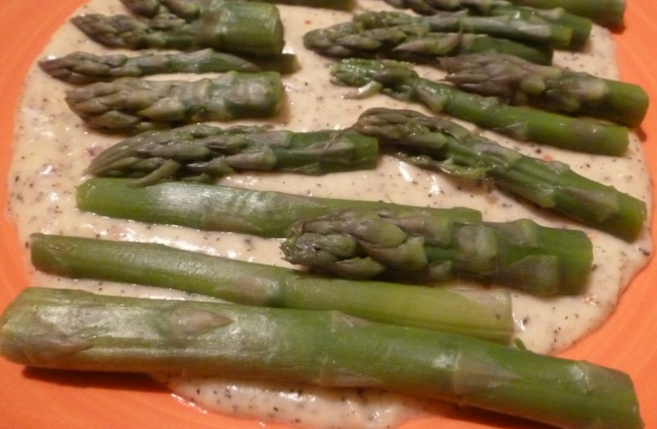 ricetta asparagi crema di parmigiano