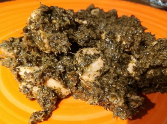 Pollo agli agrumi, tre verdure e tris di pepe