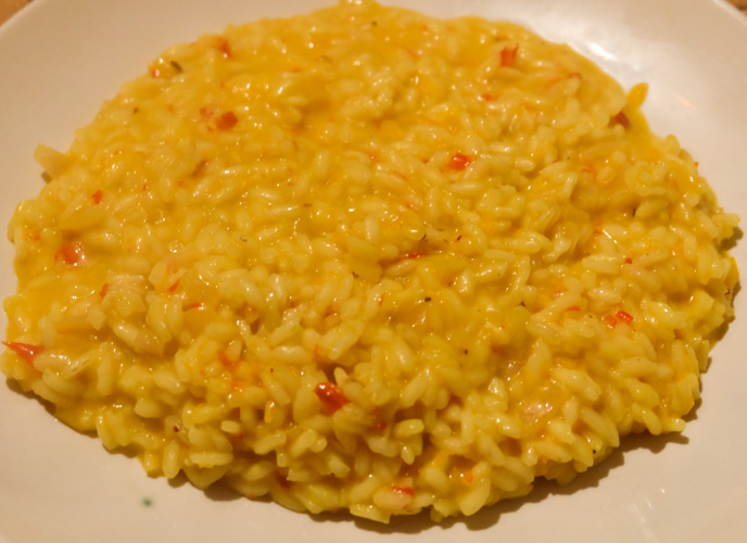 ricetta risotto arancia
