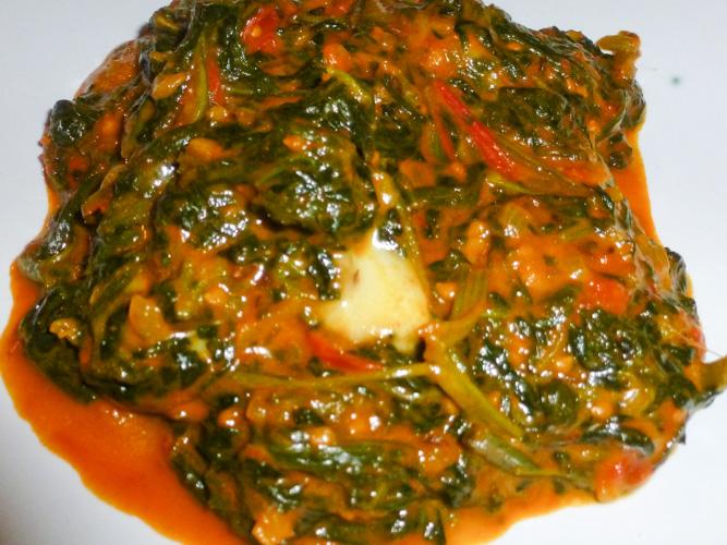 ricetta spinaci speziati