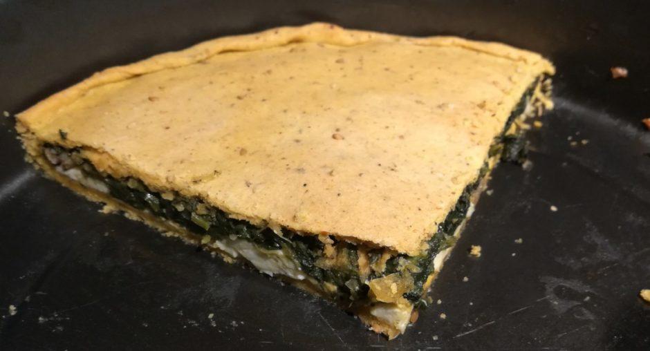 ricetta torta matta salata alla curcuma impasto farina tipo due