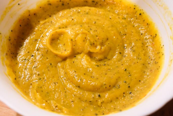 ricetta vellutata verza zucca speziata
