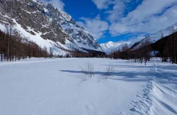 rifugio bonatti salita inverno
