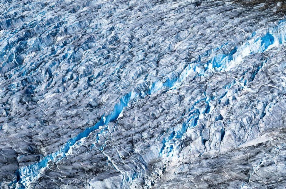 salmon glacier canada escursione da Steward crepaccio