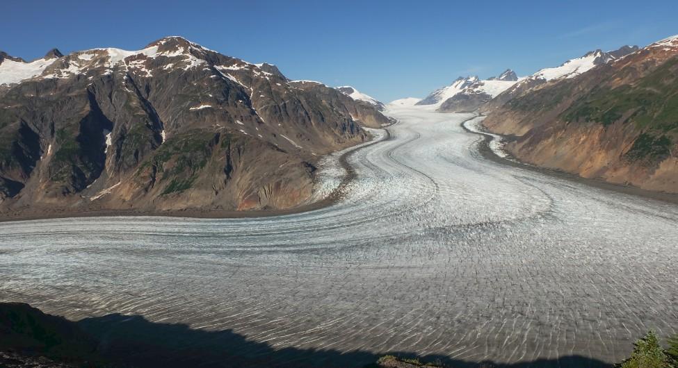 salmon glacier canada escursione da Steward