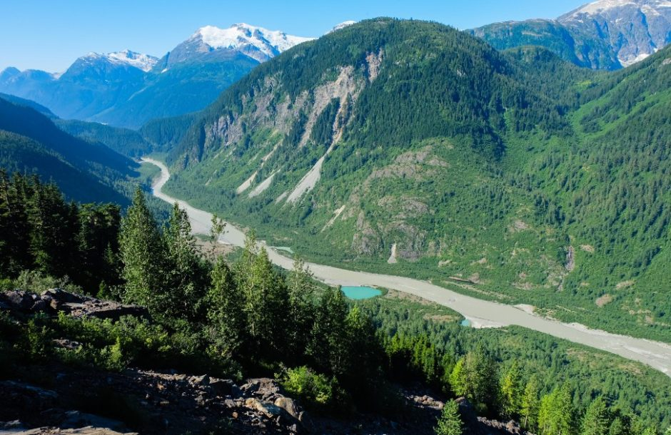 salmon river canada escursione da Steward