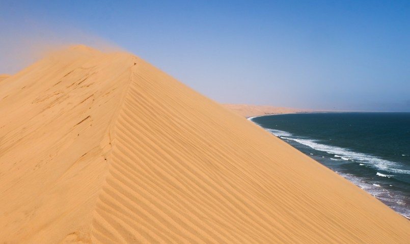 sandwich harbour vento dune sabbia