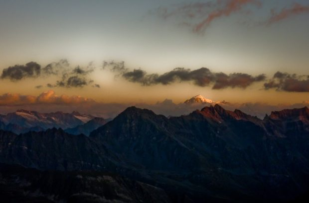 scalata gran paradiso panorama alba