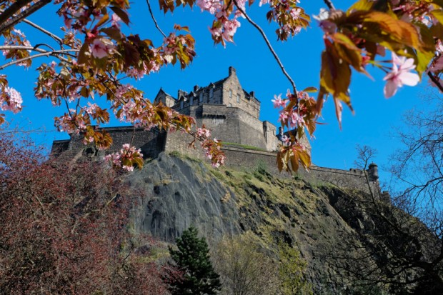 Scozia castello Edimburgo