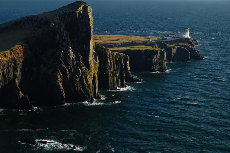 Scozia neist point isola skye