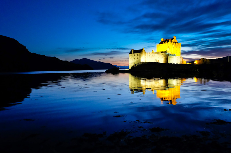 Scozia castello Eilean Donan