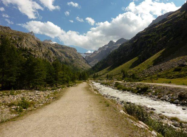 sentiero rifugio vittorio emanuele