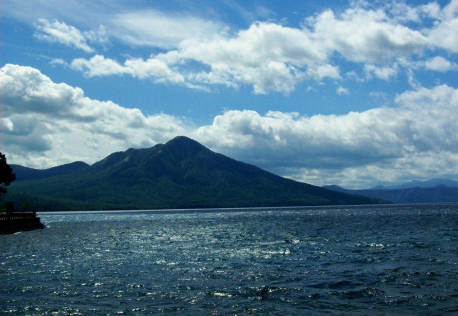 shikotsuko lago hokkaido giappone
