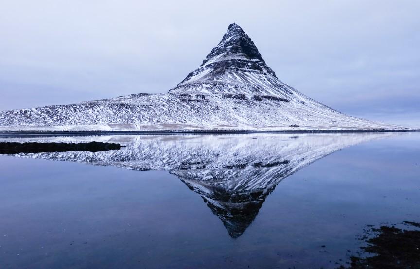 snaefellsnes Kirkjufell islanda viaggio inverno