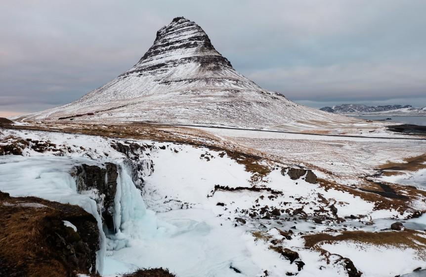snaefellsnes Kirkjufell montagna islanda