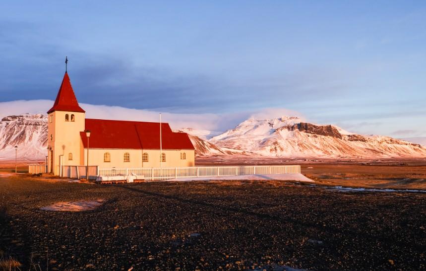 snaefellsnes chiesa viaggio islanda penisola