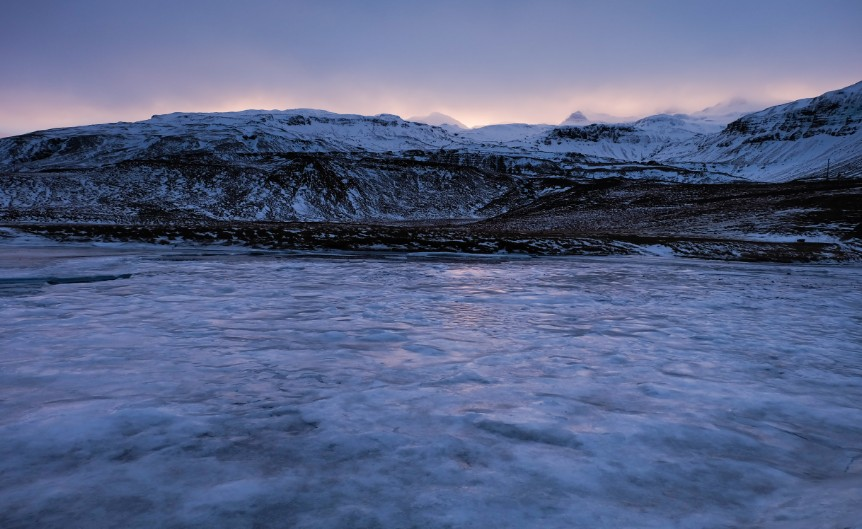 snaefellsnes freddo islanda viaggio inverno ghiaccio