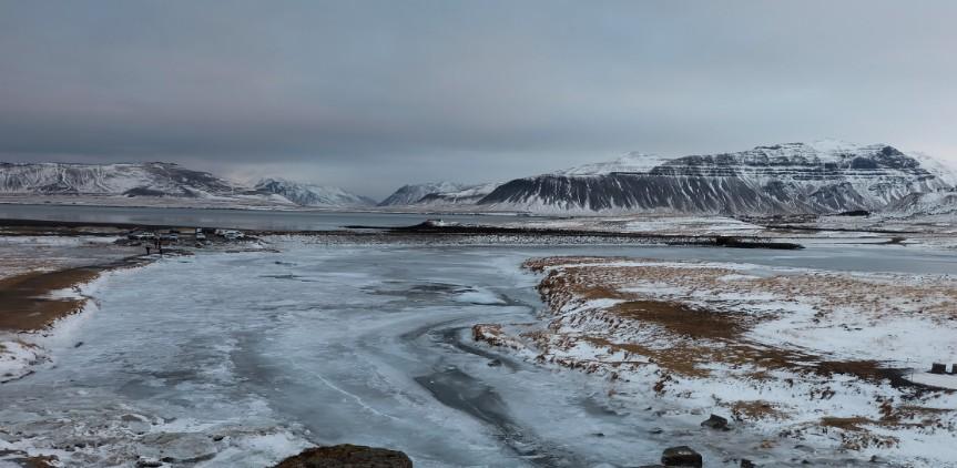 snaefellsnes islanda ghiaccio inverno
