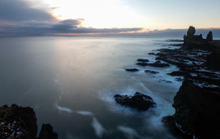 snaefellsnes mare inverno viaggio islanda