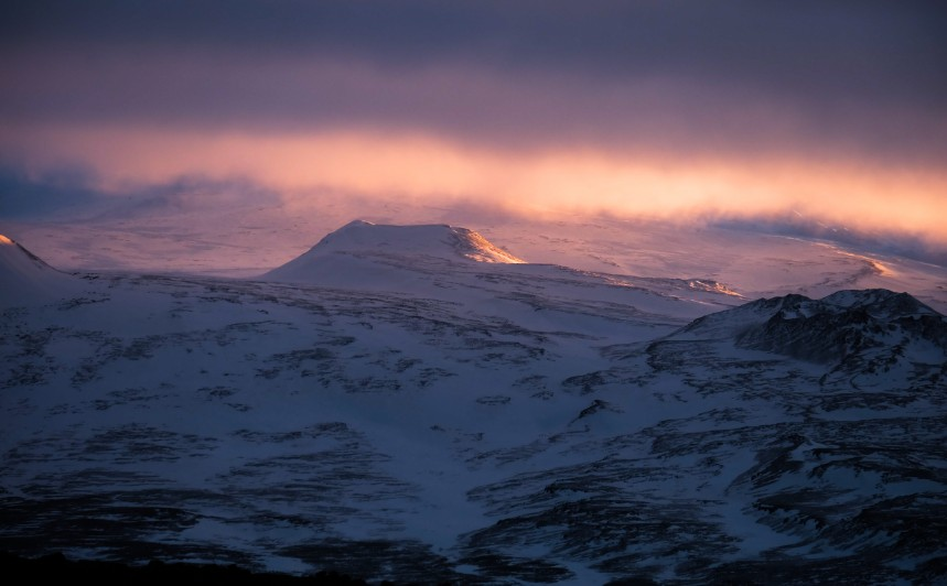 snaefellsnes tramonto parco nazionale islanda