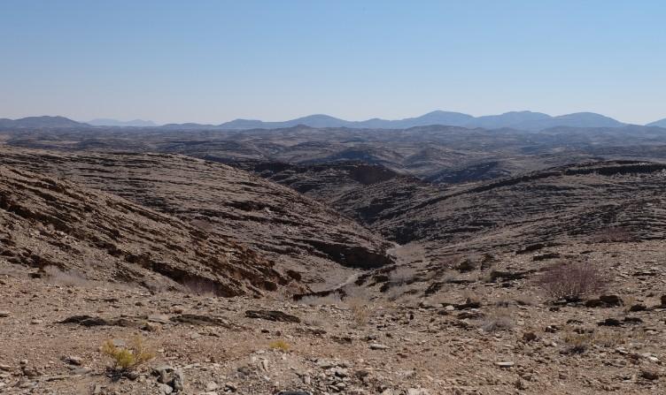 strada lunare namibia viaggio